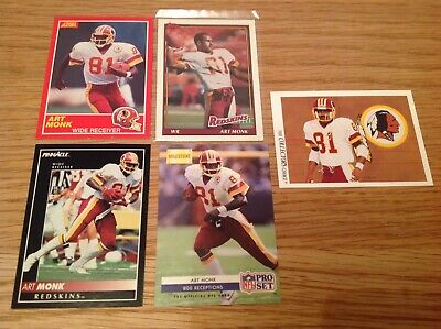 Art Monk USA NFL American Football TRADING CARDS