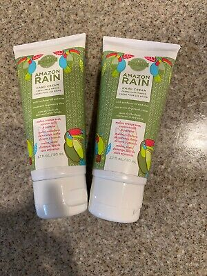 Scentsy Hand Cream 2.7 0Z- AMAZON RAIN- FULL SIZE, FREE SHIPPING. This Is For 2