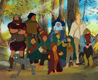 THE LORD OF THE RINGS: ORIGINAL BAKSHI LIMITED EDITION PRINT w/ Free Autograph