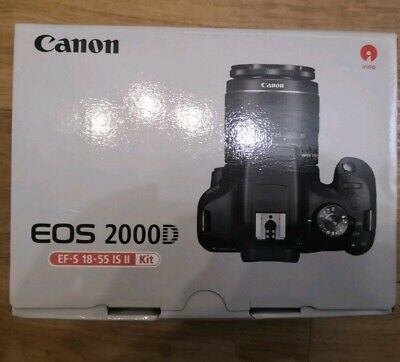 Canon EOS 2000D Digital SLR Camera with 18-55mm Lens