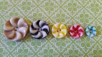 Vintage Collectible Colt Mfg. Buttons