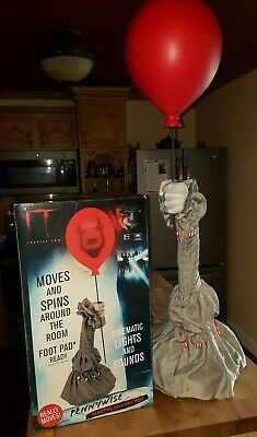 ANIMATED PENNYWISE BALLOON ARM Halloween Prop IT CHAPTER 2 NEW!!!
