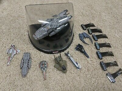 battlestar galactica titanium series 7 Piece Lot