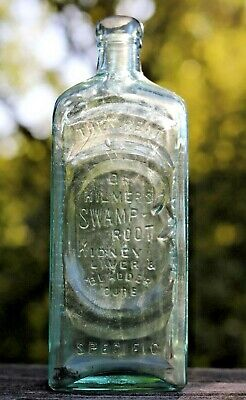 Antique The Great Dr. Kilmer's Swamp Root Kidney Liver and Bladder Cure Bottle