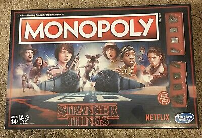 Monopoly Hasbro Stranger Things Edition Netflix 80s Board Game