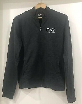 Mens Emporio Armani Tracksuit Top With Zip Size M