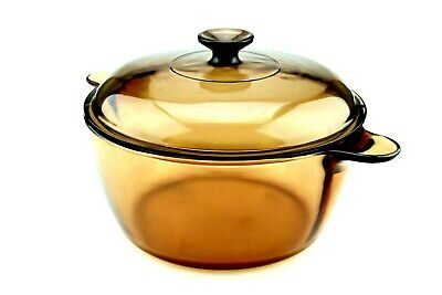 Corning Vision Amber 4.5L cooking pot