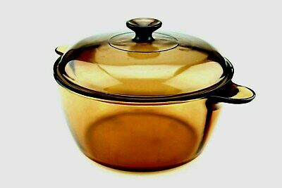 Corning Vision Amber 4.5L Pyrex cooking pot