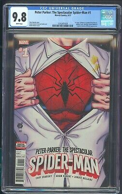 Peter Parker: The Spectacular Spider-Man 1 Cgc 9.8 8/17 1St App Rebecca London