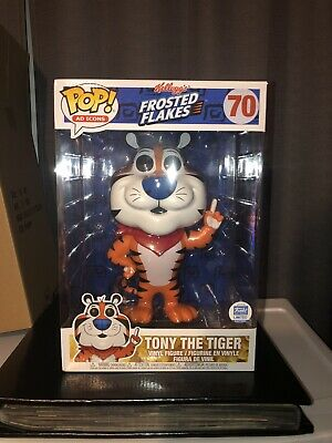 Funko Pop Ad Icons 70 Tony The Tiger 10 Inch Frosted Flakes