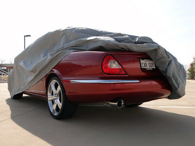 Jaguar Xj8 X350 2001-2007 Heavy Duty Fully Waterproof Car Cover Cotton Lined