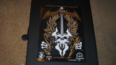 Metallica S&M 2 The Night Between Party Poster Signed Squindo San Francisco