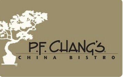 PF Chang's Gift Card (Electronic Delivery) $50