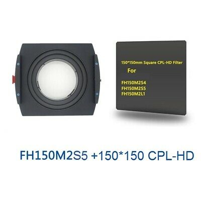Benro 150mm for SIGMA 12-24mm f/4 DG FH150M2S4 Filter Holder+150 CPL-HD Metal