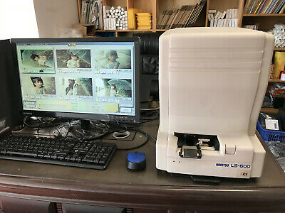 Used Noritsu 135AFC film scanner LS-600 stand alone,good working condition