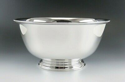 Antique Sterling Silver Tiffany & Co Paul Revere American Colonial Style Bowl 8""