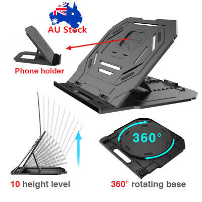 Portable Laptop Stand Foldable Phone Macbook Stand/Tray/Desk/Table Cooling Pad