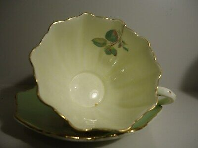 "Vintage: "" Paragon"" Cup And Saucer "" Bone China"