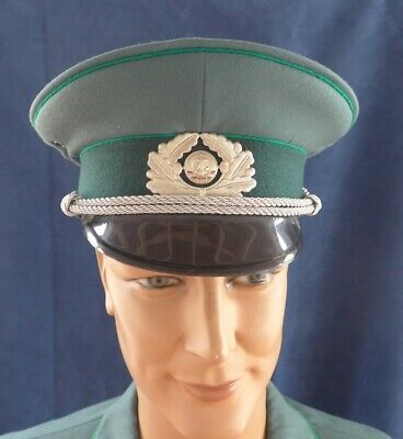 East German Ddr Volkspolizei Officers Peaked Cap Size 58