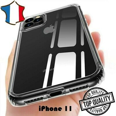 COQUE TRANSPARENTE iPhone 11 ETUI HOUSSE SILICONE CRYSTAL ULTRA FIN NEW BRAND