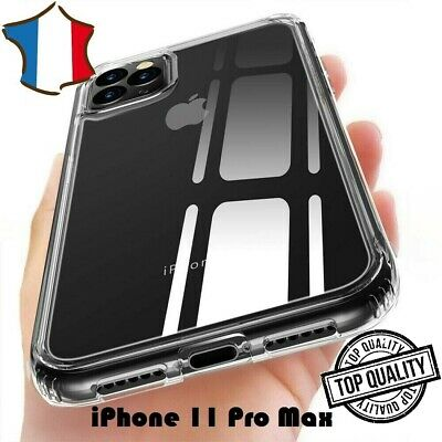 COQUE TRANSPARENTE iPhone 11 PRO MAX ETUI HOUSSE SILICONE ULTRA FIN NEW BRAND