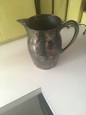 Vintage Golf Trophy Pitcher Millidgeville Ga Country Club EPC Poole Silver 525