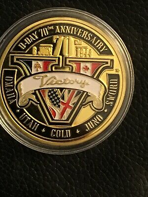 D-Day Commerative Coin