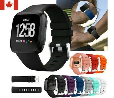 New Silicone Sport Band Replacement Soft Bracelet Strap For Fitbit Versa S / L