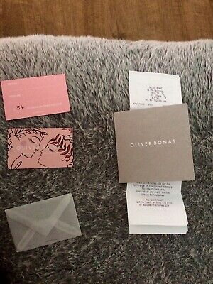 £66 Oliver Bonas gift card and gift voucher