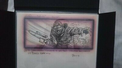 The Thing (1982) original story board by Mike Ploog