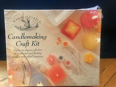 House of Crafts Candlemaking Craft Kit - Brand New And Unopened Gift Wax