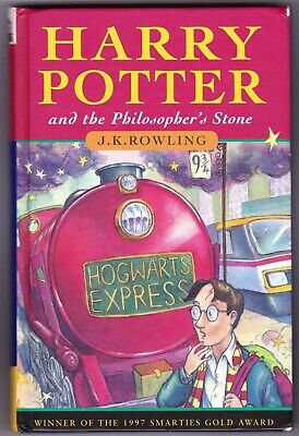 HARRY POTTER & THE PHILOSOPHER'S STONE 1st edition UK HB Hardback 1997 - 14th