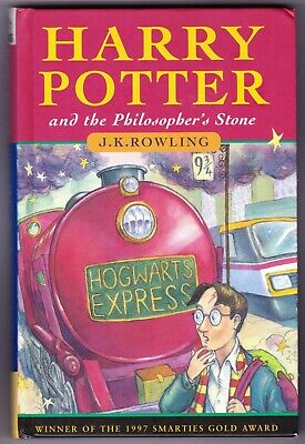 HARRY POTTER & THE PHILOSOPHER'S STONE 1st edition UK HB Hardback 1997 - 17th