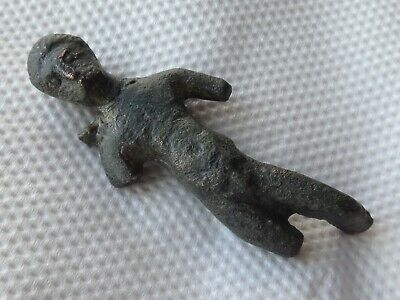 Bronze Ancient (Authentic) Statuette, Figure  1-2 AD.  32,83 g / 61m