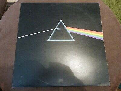 Pink Floyd - Dark Side Of The Moon - A9/B9 + Posters + Stickers - Excellent