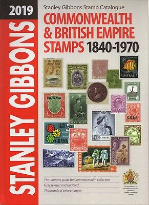2019 Commonwealth & British Empire Stamps 1840-1970 Stanley Gibbons Catalogue
