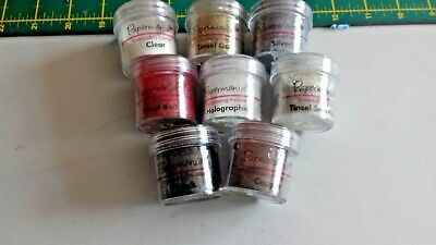 paper mania embossing powder x 8