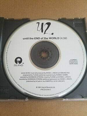 U2 Until The End Of The World  Ultra Rare Promo CD PRCD 6704-2