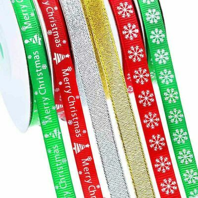 """80-85mm TARTAN CHRISTMAS Double Bows Ribbon Bows With Tails 3.5/"""" 4//8//20 Small"""