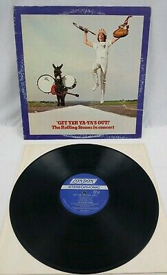 The Rolling Stones in Concert Get Yer Ya-Ya's Out! London NPS-5  Inner Sleeve