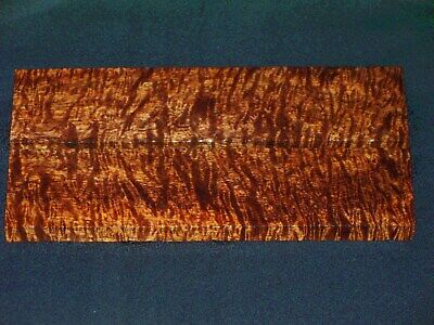 Aaaaa Jumbo Hawaiian Curly Koa Knife Scales  #0240