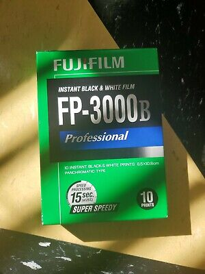 Sealed Pack of Fuji FP-3000B Instant Black & White Film Land COLD stored 2014-11