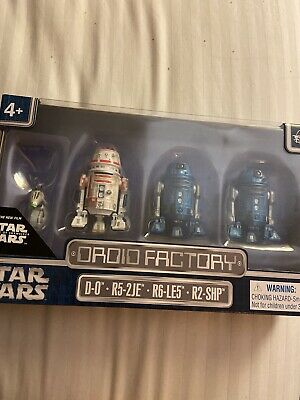 Disney Parks 4Pack Droid Factory Star Wars The Rise Of Skywalker New In Box