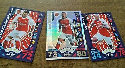 Match Attax Jack Wilshire Silver Limited Edition card 2016/17 Season
