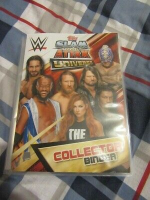 Topps WWE Slam Attax Universe - Complete Base collection plus extras