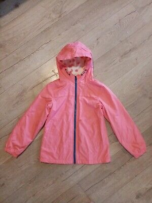 Excellent Next Girls Pink Fleece Lined Jacket Age 9 10 years