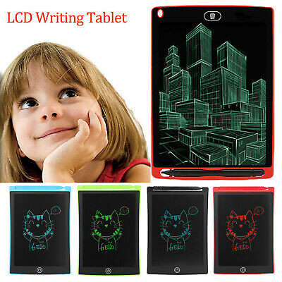 8.5 inch LCD Tablet Portable Writing Notepad E-writer Board Kid DIY Drawing Gift