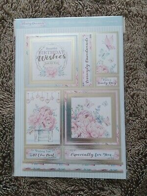 Hunkydory Peony Dreams Papercrafing Kit
