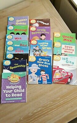 Oxford Reading Tree Biff Chip and Kipper Read At Home Level 4,5,6 (15 books)