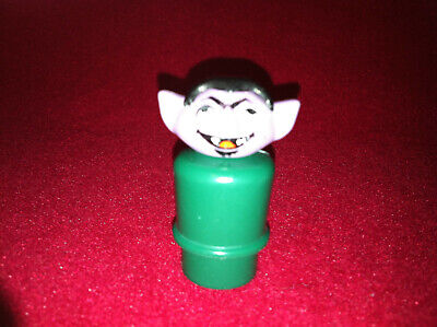 Vintage 1973 Sesame Street Fisher Price THE COUNT Little People figure